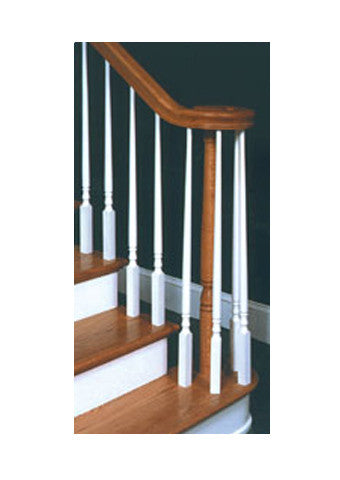Turned Newel Posts and Balusters