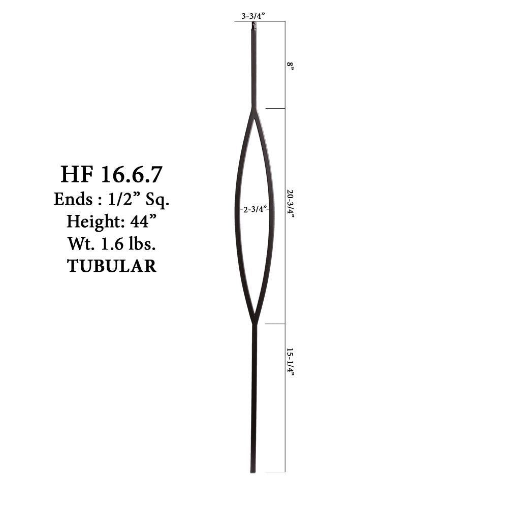 16.6.7 Aalto Modern Series Marquis Hollow Baluster