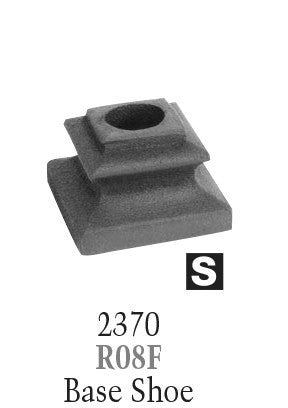 2370 Series R08F Flat Shoe For Victorian Series Balusters