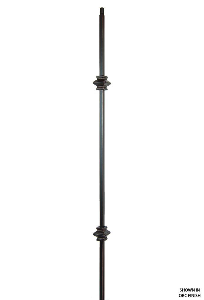 2557 Series 2KNUC Double Knuckle Versatile Iron Baluster