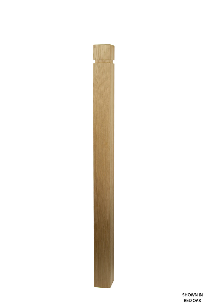 4050 Profile - 3 1/2 Inch Contemporary Solid Post