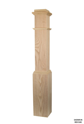 4891 Profile - 7 1/2 Inch Plain Box Post