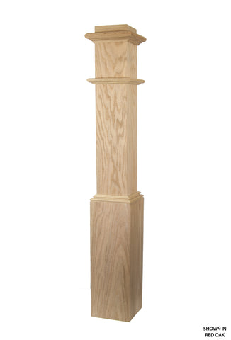 4892 Profile - 7 1/2 Inch Plain Box Post