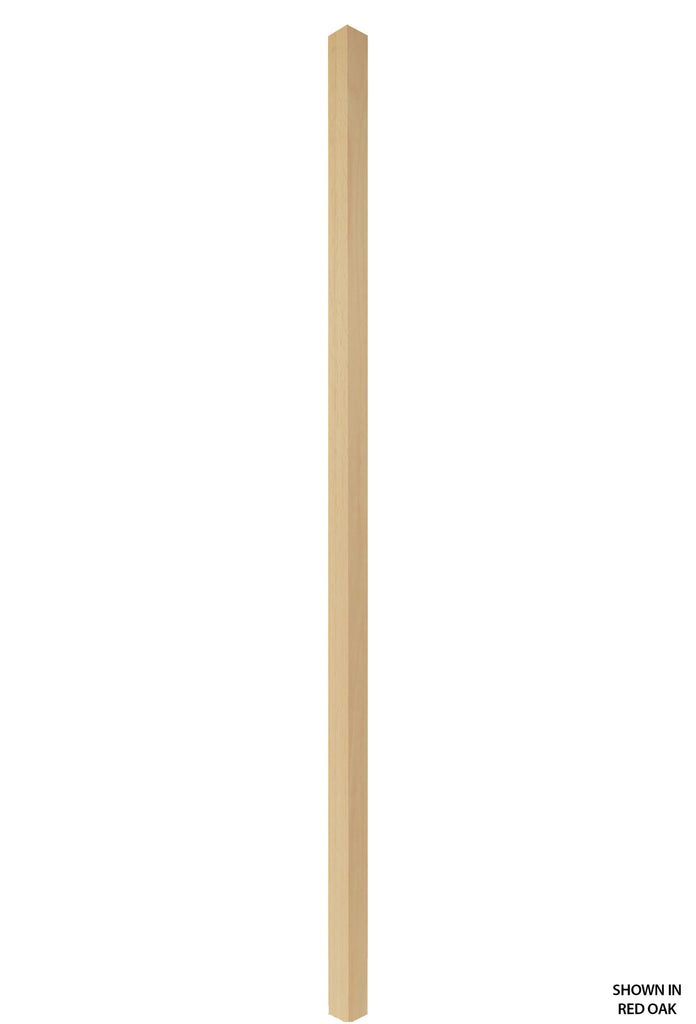 Contemporary Series - 5060 Profile 1 1/4 Inch Square Wood Baluster