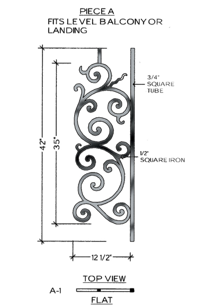 Milano Series - A1 Straight Level Panel