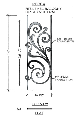 Rebecca Series - A1 Straight Level Panel