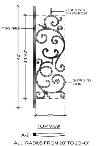 Regency Series - A2 Curved Level Panel