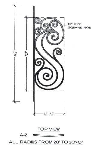Victoria Series - A2 Curved Level Panel