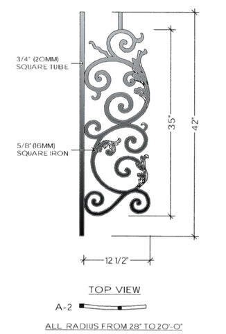 Bordeaux Series - A2 Curved Level Panel