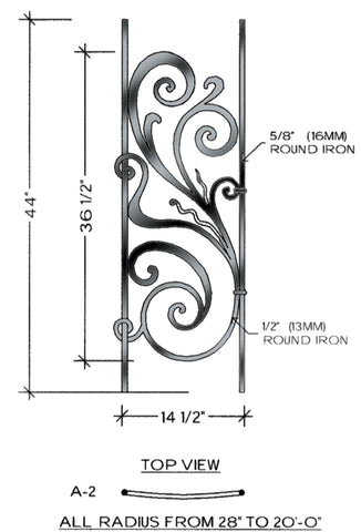 Rebecca Series - A2 Curved Level Panel