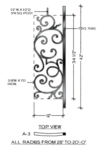 Regency Series - A3 Curved Level Panel