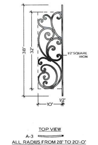 Tuscany Series - A3 Curved Level Panel