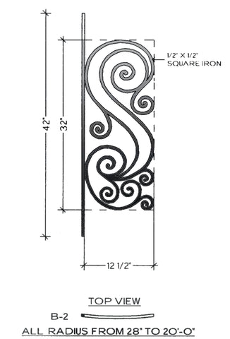 Victoria Series - B2 Curved Level Panel