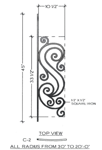 Victoria Series - C2 Curved Pitch Panel