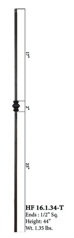 HF 16.1.34-T Single Knucle Hollow Iron Baluster