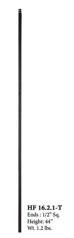HF 16.2.1-T Plain Bar Hollow Iron Baluster
