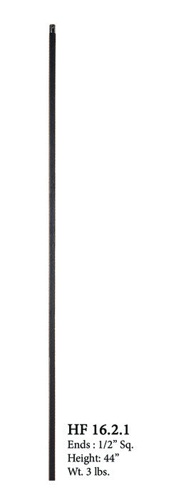 HF 16.2.1 Plain Bar Iron Baluster