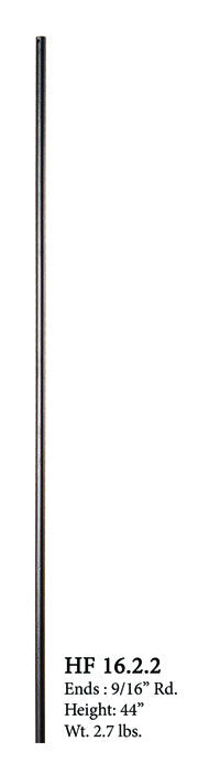 HF 16.2.2 Plain Round Iron Baluster