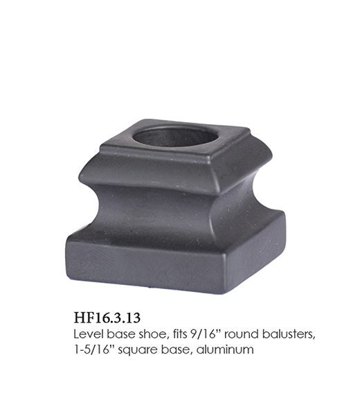 HF 16.3.13 Level Base Shoe (No Set Screw)