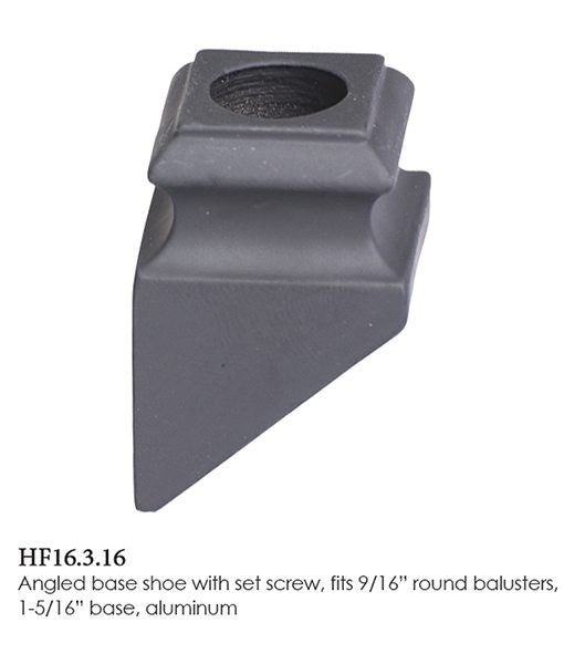 HF 16.3.16 Angled Base Shoe With Set Screw