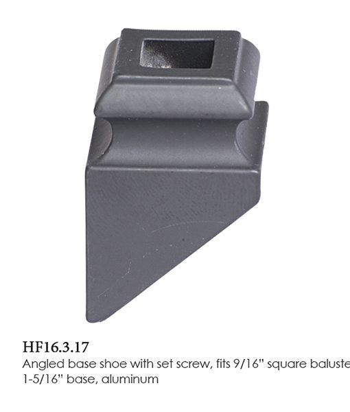 HF 16.3.17 Angled Base Shoe With Set Screw