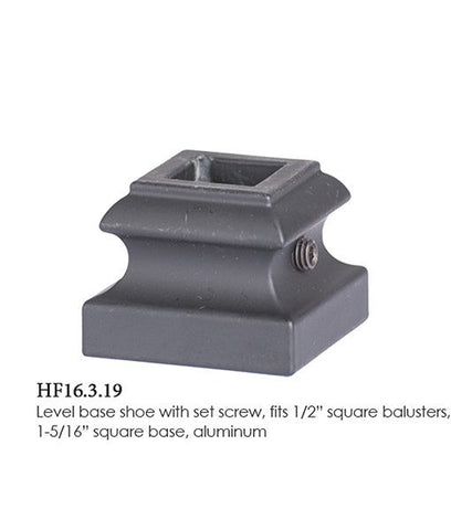 HF 16.3.19 Level Base Shoe With Set Screw