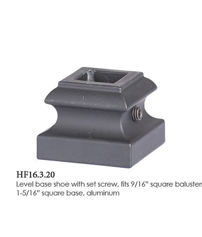 HF 16.3.20 Level Base Shoe With Set Screw