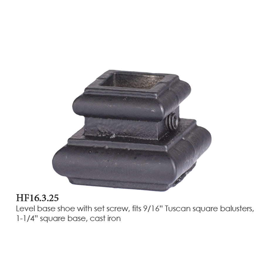 HF 16.3.25 Level Base Shoe With Set Screw