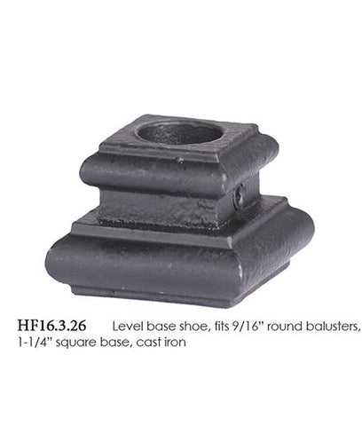 HF 16.3.26 Level Base Shoe With Set Screw