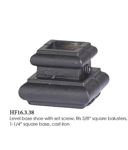 HF 16.3.38 Level Base Shoe With Set Screw