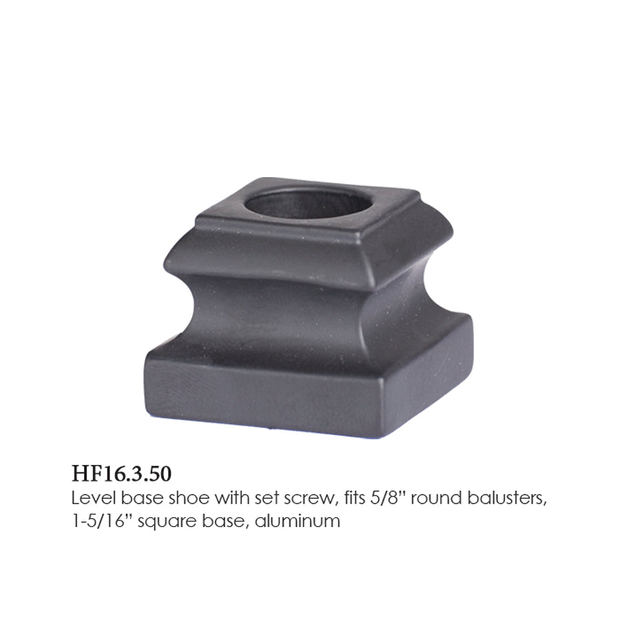 16.3.50 Level Base Shoe for 5/8 Inch Round Balusters