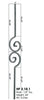 HF 2.10.1 Double Double Spiral Iron Baluster