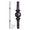 2.9.26 Double Sphere Hammered Iron Baluster