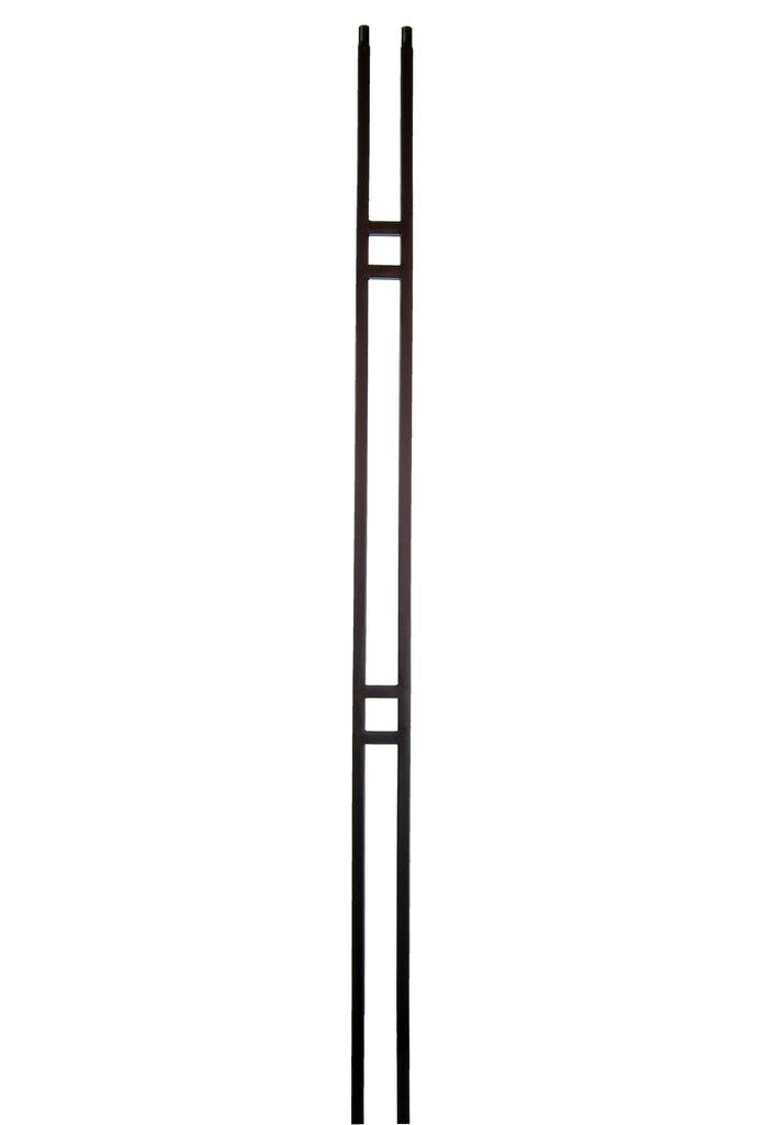 2673 Series M436 Skinny Square Iron Baluster