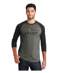 ASLAN New Era® Mens Baseball Raglan Tee