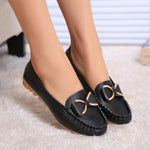 Bowknot Flat Heel Casual Doug shoes