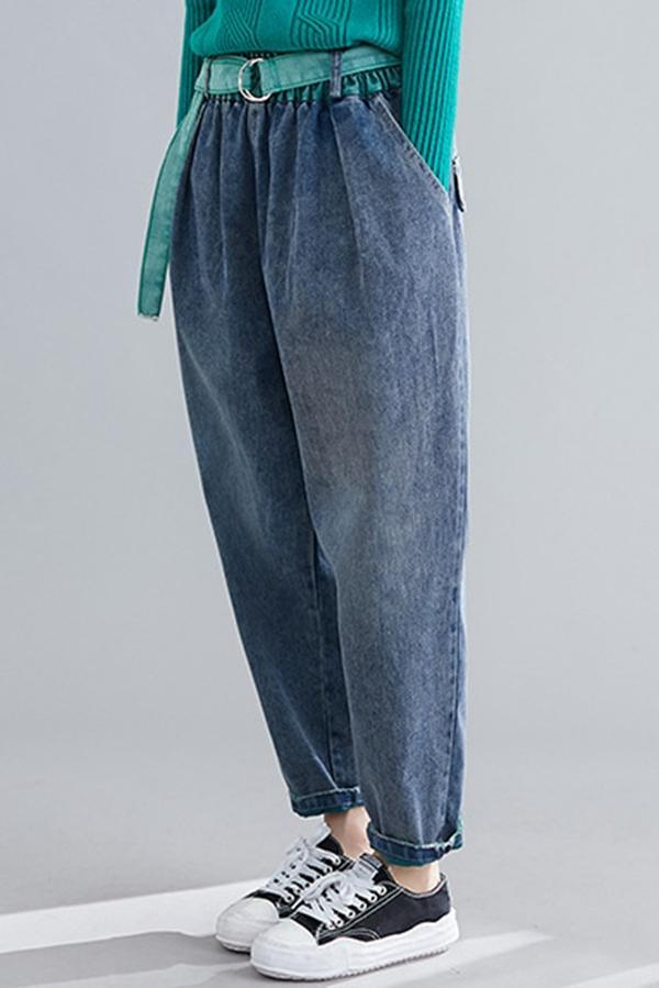 Casual High Waist Loose Pants