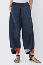 Geometrical Print Casual  Pants