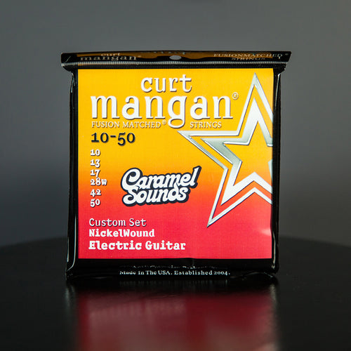 Curt Mangan 10-50 Electric Guitar Strings