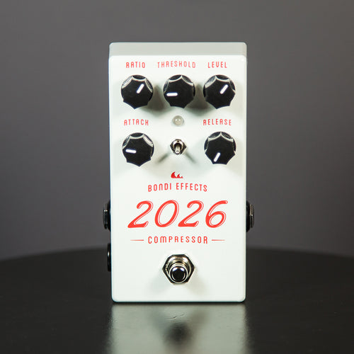 Bondi Effects 2026 compressor guitar pedal