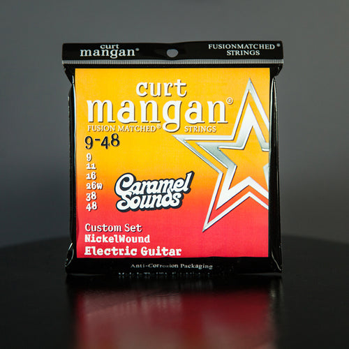 Curt Mangan 9-48 Electric Guitar Strings