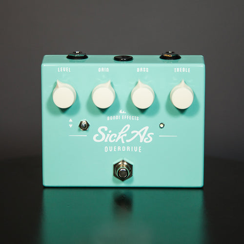 Bondi Effects Sick As overdrive guitar pedal front