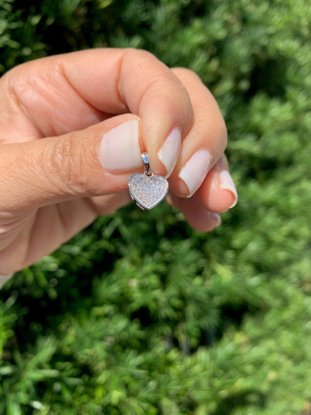 Small Heart Pave Pendant