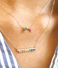Load image into Gallery viewer, Mini Rainbow Necklace
