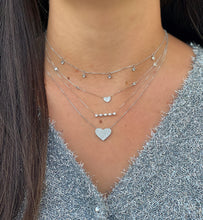 Load image into Gallery viewer, Diamond By the Yard Dangling Necklace