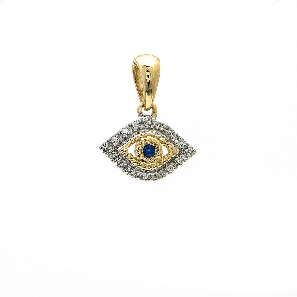 Petite Two Tone Eye Charm