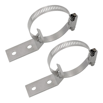 Outlet Header Hold-Down Bracket Assembly