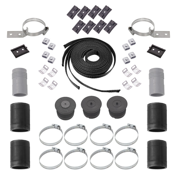 SwimEasy Single Panel System Hardware Kit (Solid Mount)