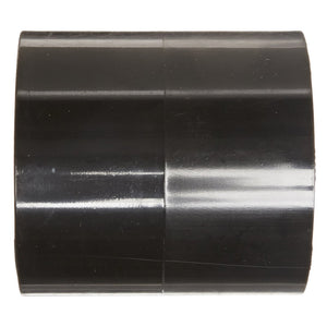 Sch40 PVC Coupling, Socket, Black