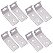 Outlet Header Bracket, Stainless Steel